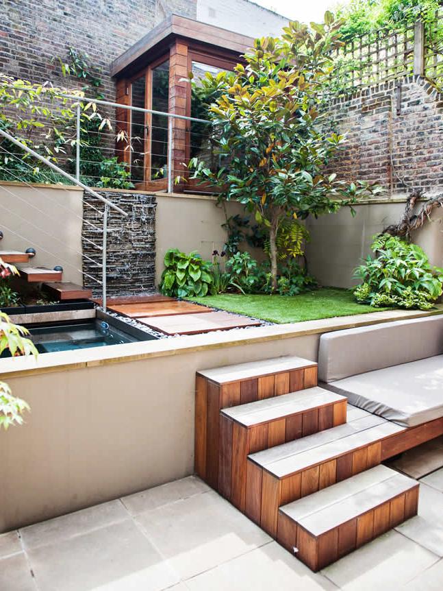 City Garden By The Garden Builders Piscinas Em 2019 Jardins De