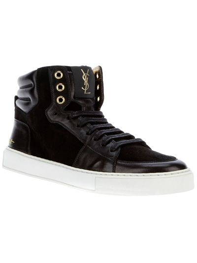 YVES SAINT LAURENT High-Top Sneaker