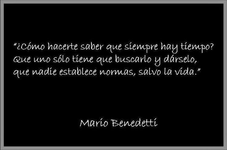 ⚜ Mario Benedetti