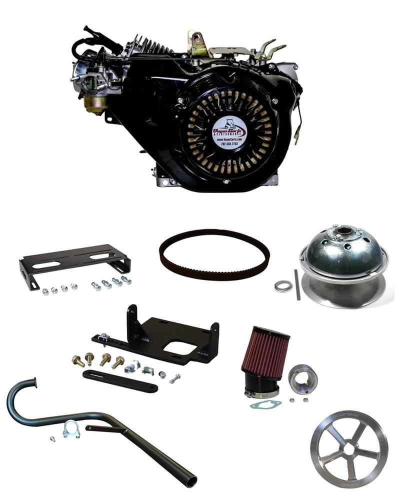 25HP VRX 460CC GOLF CART COMPLETE ENGINE UPGRADE KIT 84/96