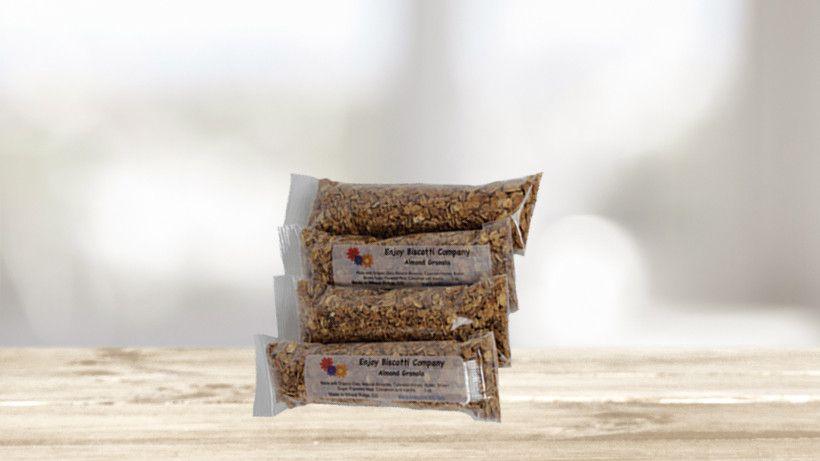 Granola 4 pack by enjoy biscotti granola biscotti