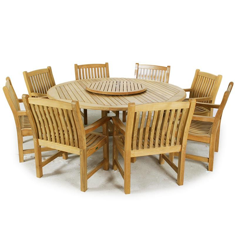 9 Pc Buckingham Veranda Teak Dining Set Westminster Teak Teak