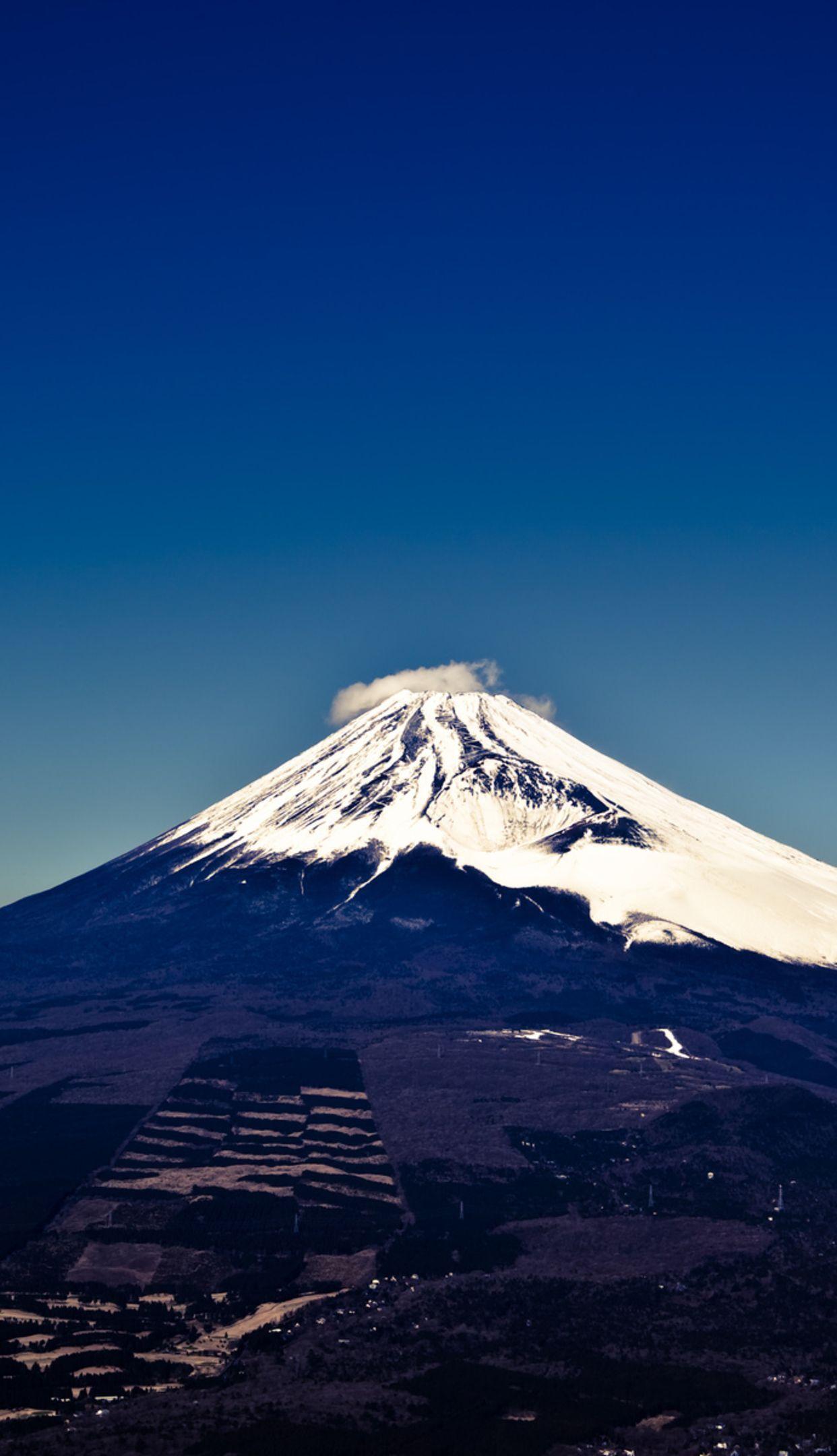 Mount Fuji Wallpaper 1242x2208
