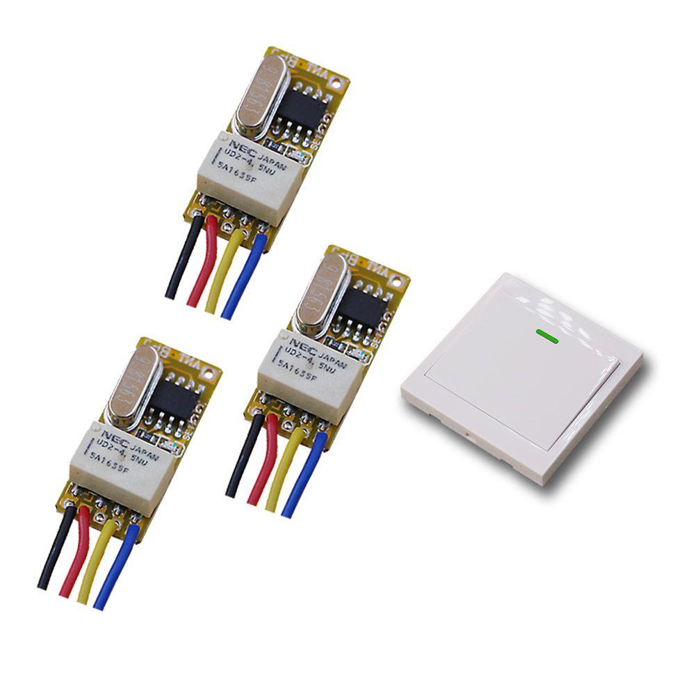 DC 3 5v-12v Micro Wireless Remote Control Switch RF Remote