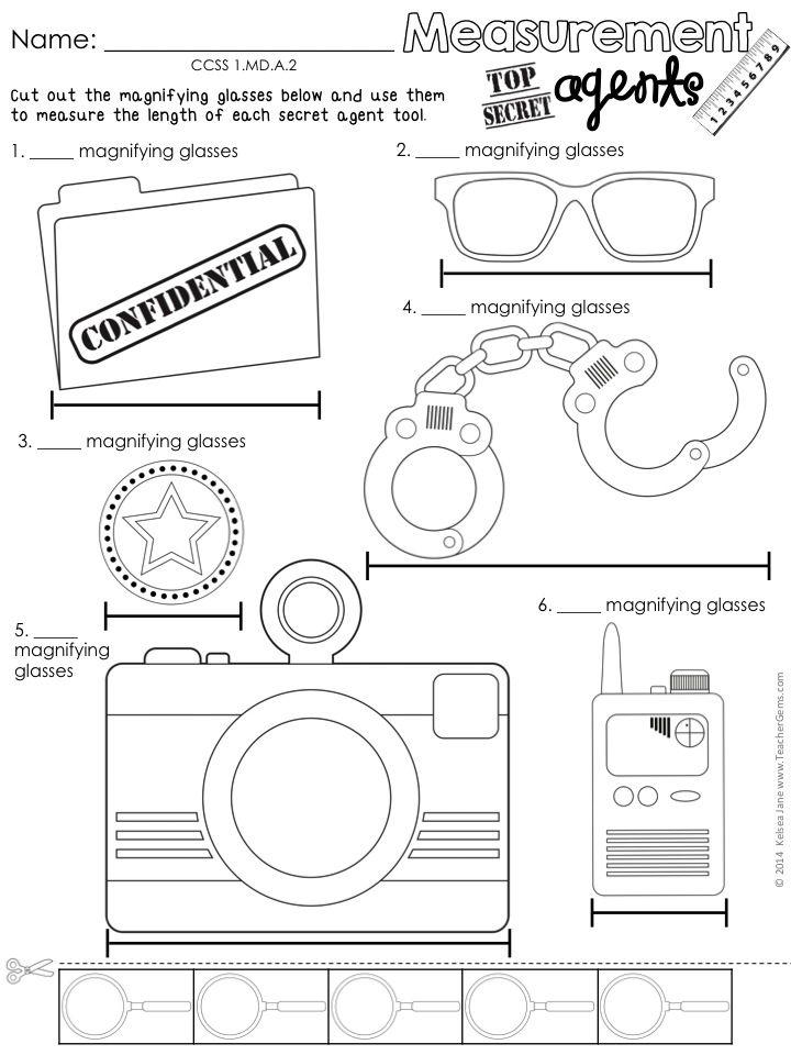 First Grade Math Agents Common Core Aligned Math Print And Go Fun