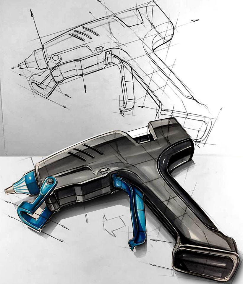 industrail design sketch  u0026 marker rendering tutorial on