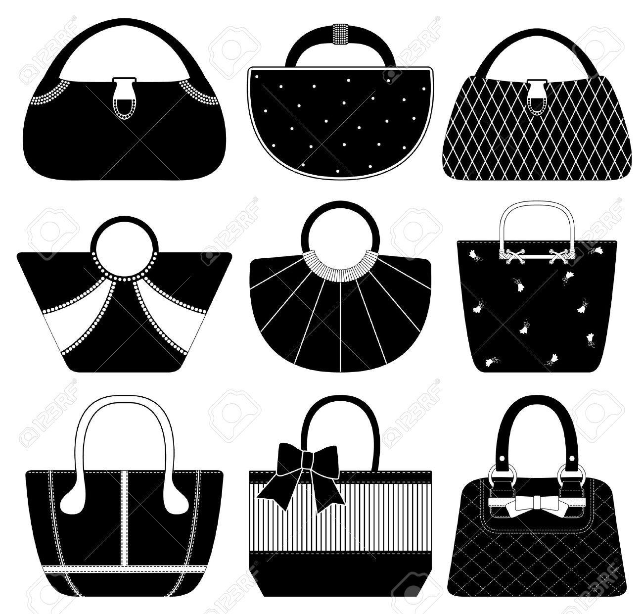 8723517-Female-Bag-Handbag-Purse-Fashion-Woman-Stock ...