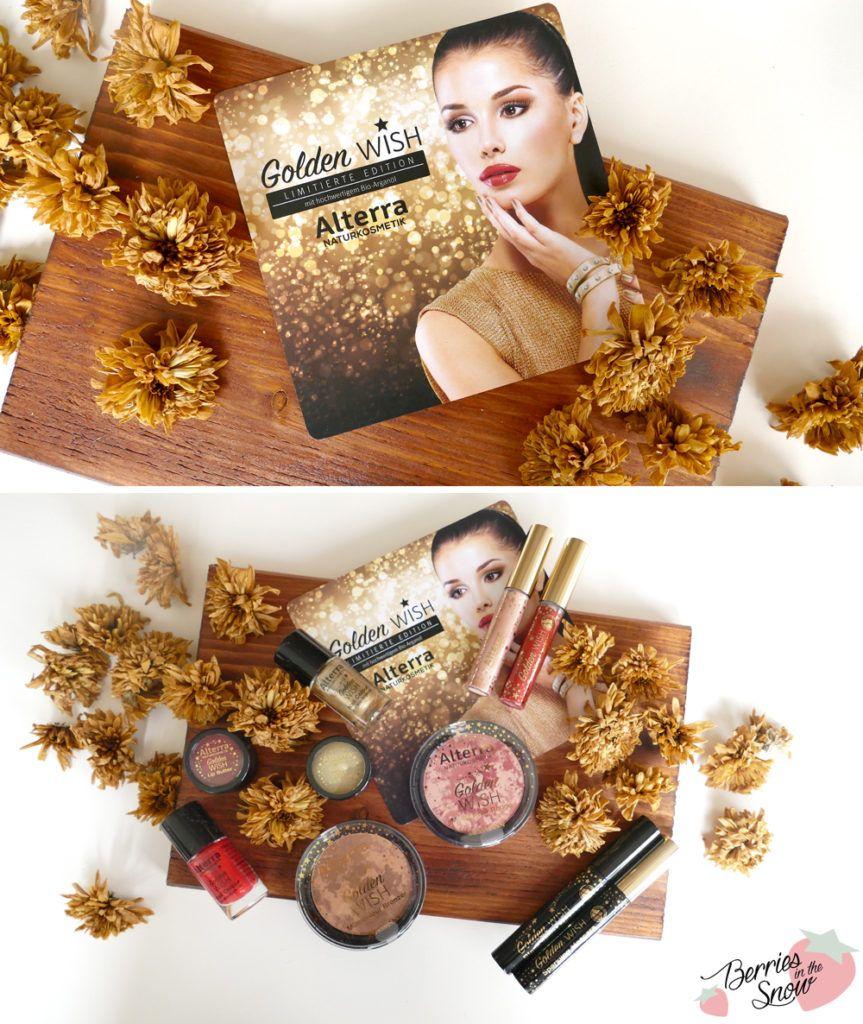 Review: Alterra Golden Wish Limited Edition #alterra #makeup