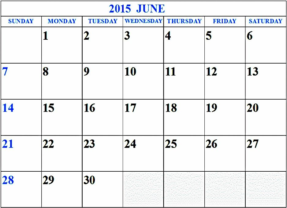 Download Blank June 2015 Calendar With Holidays UK, USA, NZ, Canada