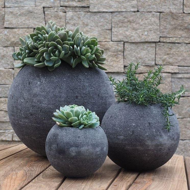 Vasi Da Giardino Grandi.Vasi Per Giardino In Pietra Flores Nel 2019 Vasi Da
