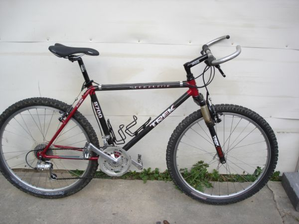 my old Trek 8700 Carbon Fiber   17 years and counting | Great