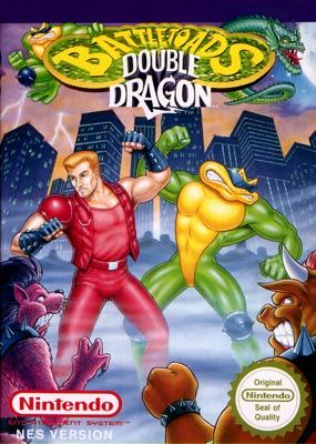 Battletoads Double Dragon Box Art Nes 1993 Double Dragon Classic Video Games Nes Games