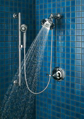 Mount The Slide Bar On Another Wall Kohler Hand Held Shower How About This Looks Nice