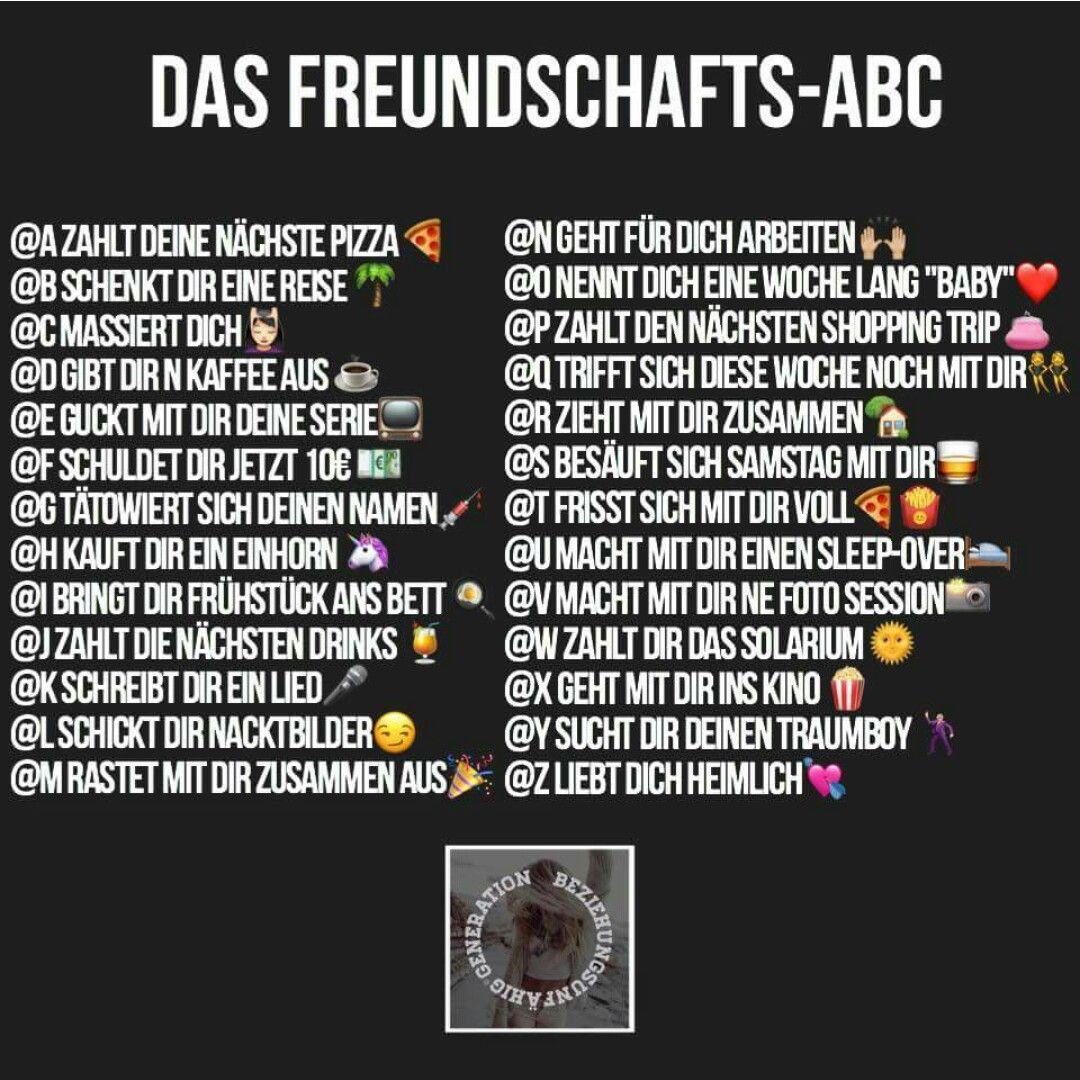 Abc freundschafts Die 65