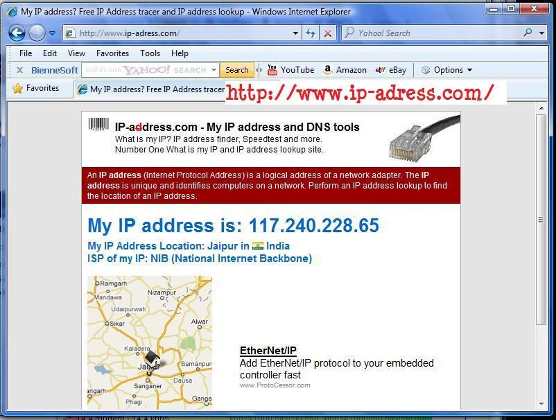 What Is My IP Address At IP-Adress com - Whois, My IP