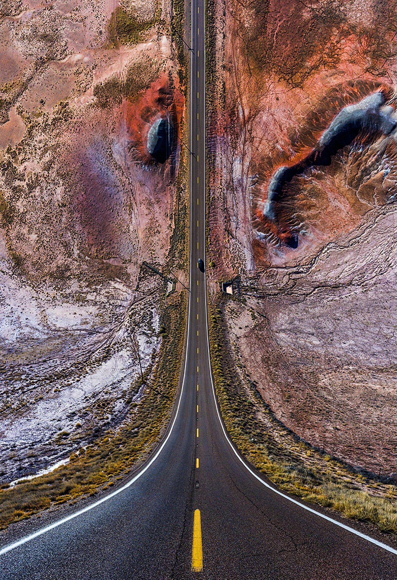 Surreal Drone Photos Transform America Into A Roller Coaster