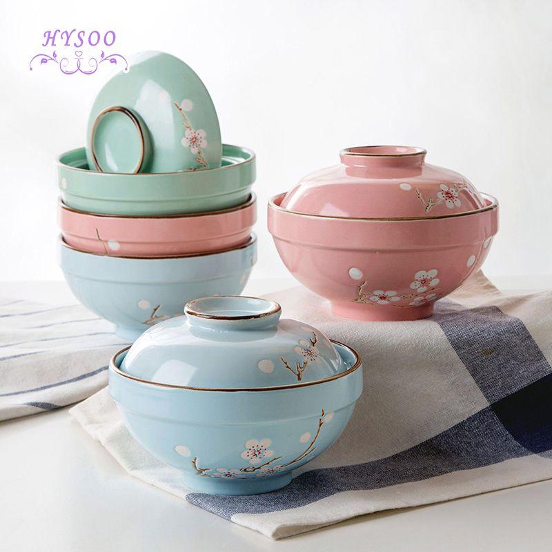 Microwave Ceramic Bowl To Eat Rice