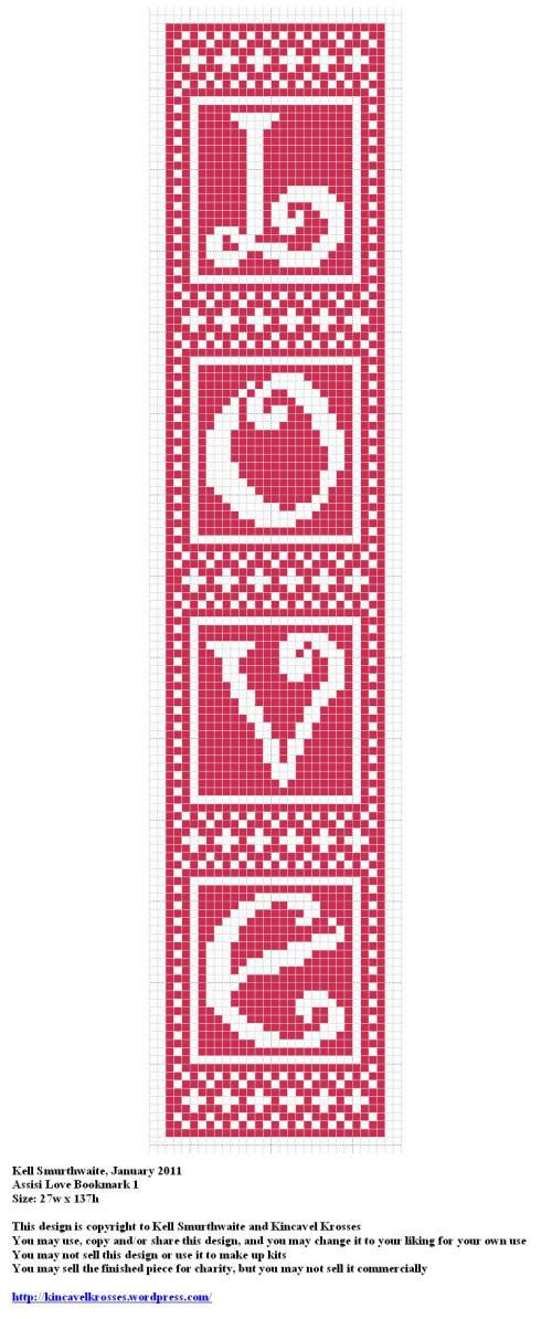 Assisi Love Bookmark 1