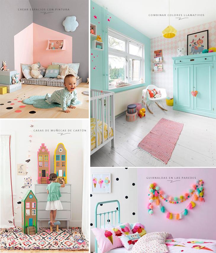 Resultado de imagen para ideas para decorar dormitorios - Decoracion infantil habitacion ...