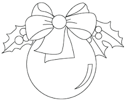 Christmas ornaments coloring page - Cerca con Google