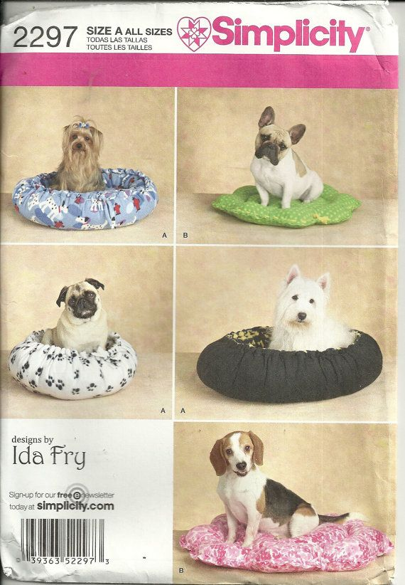 Dog Beds patterns | Coisas para cão | Pinterest | Dog beds, Dog and ...