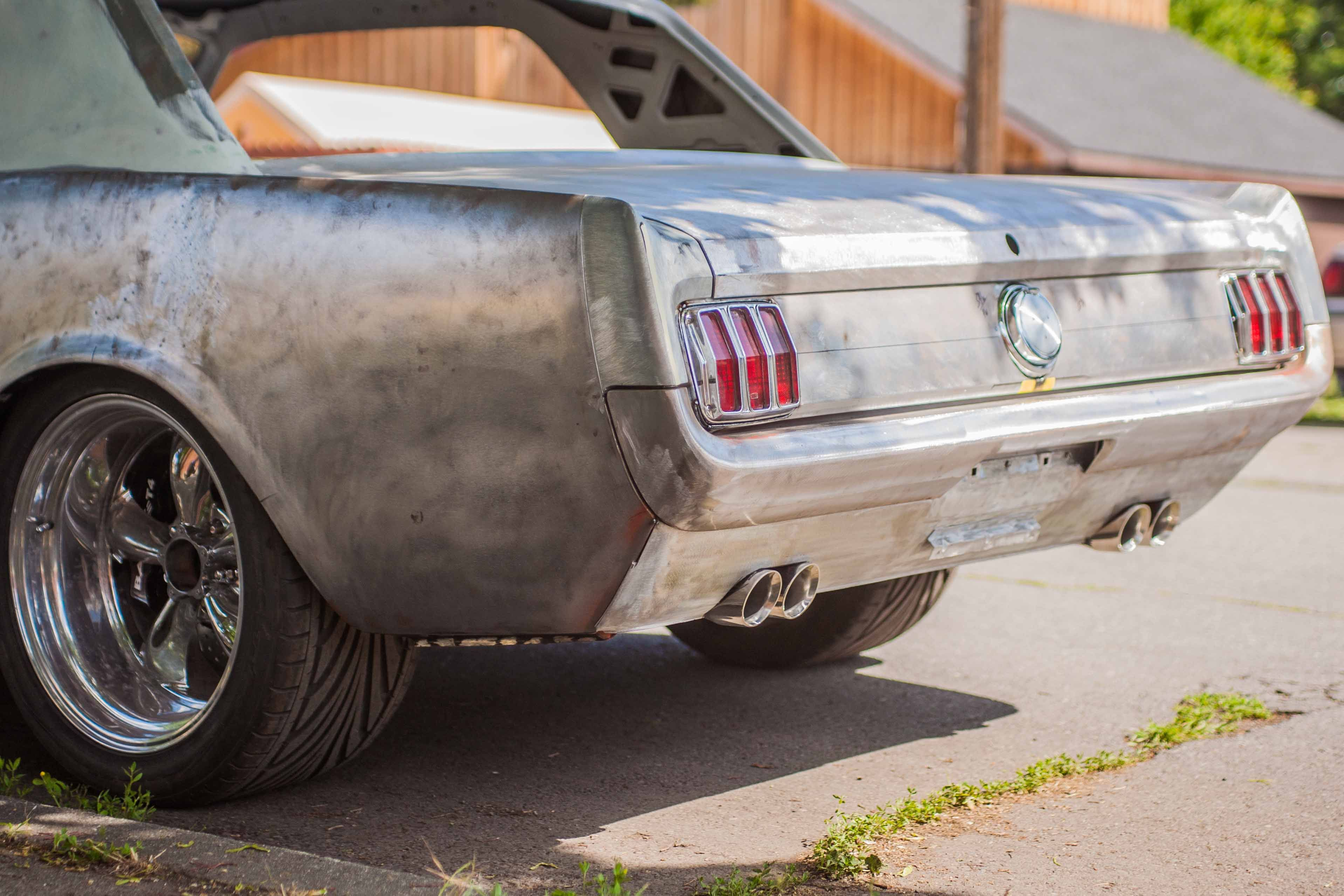 photo by zach isaacson mustang coupe