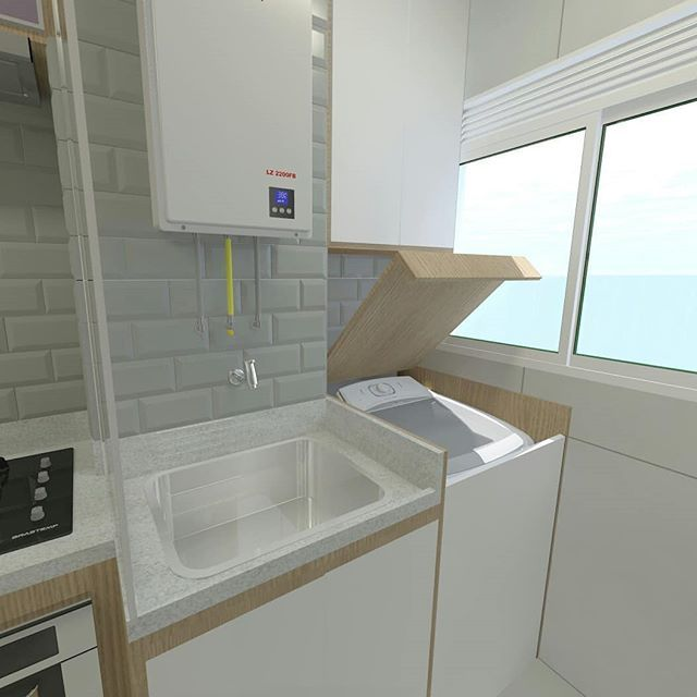 Washing Machine In Kitchen Design: Mi Brito (@mimiibrito) • Fotos E Vídeos Do Instagram