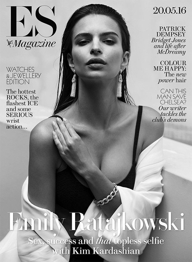 Emily Ratajkowski Talks the Complications of Being Sexy and Why She Supported Kim Kardashian's Nude Selfie