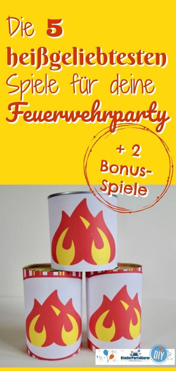 Photo of Heiße Feuerwehrkinder-Geburtstagsspiele