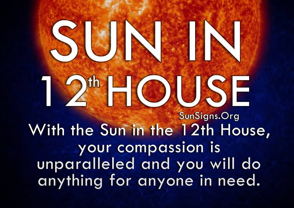 Sun In 12th House Astrology Astrology Astrology Houses Astrology Numerology