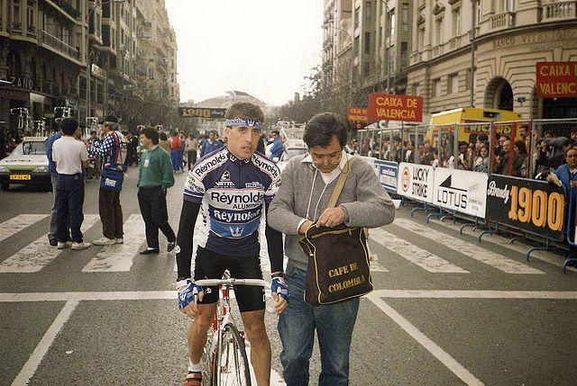 Parlamento Ciclista - Pedro Delgado Robledo - El Baúl de los Recuerdos