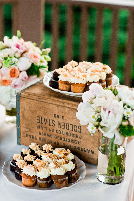 Bi Rite Catering Wedding Mini Cupcakes From Creamery Photo By Cliff Brunk Biritecatering