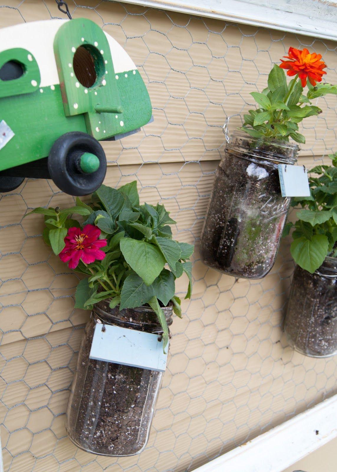 diy mason jar wall garden vertical garden diy vertical on indoor herb garden diy wall mason jars id=30869