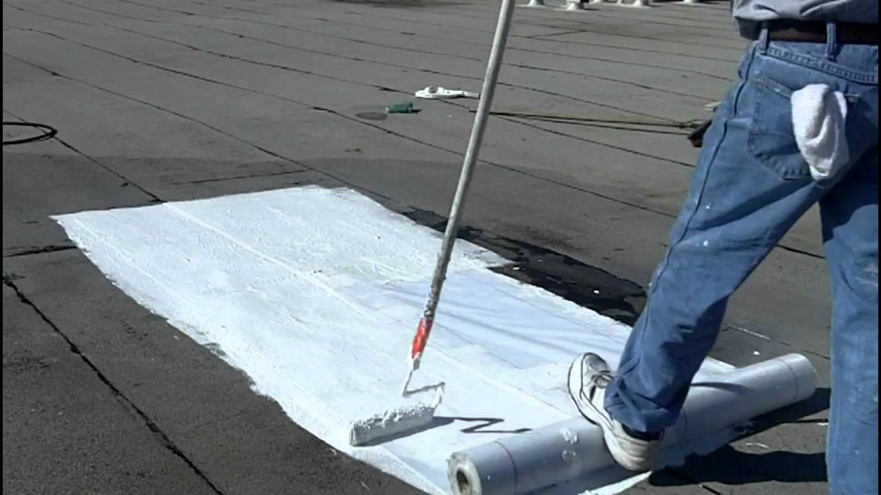 How To Install A Roof Coating System Flat Roofs Bur Roof Sealant Roof Coating Roof Restoration