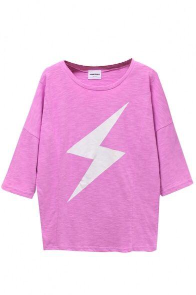 dreamsarefetch:Pink Lightening Tee