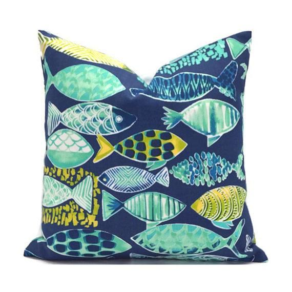 Tropical Fish Pillow Covers | Products