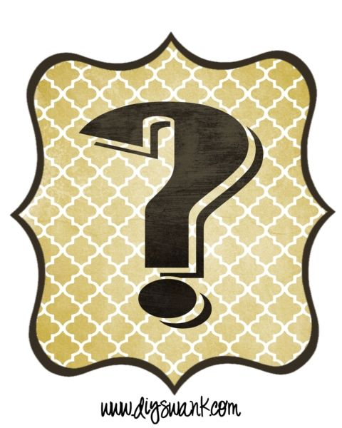 question_mark free printable banner letters free stencils bulletin board letters question mark