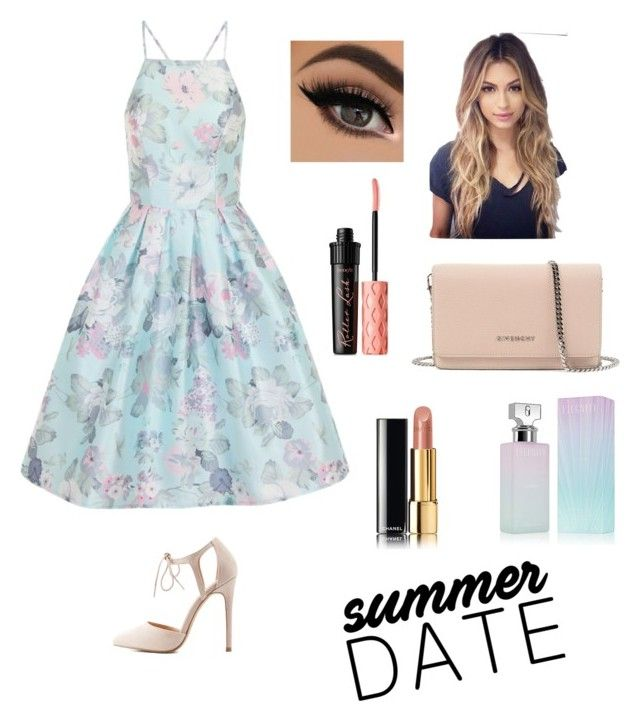 """Summer date 2016"" by janelee7549 on Polyvore featuring Chi Chi, Benefit, Chanel, Charlotte Russe, Givenchy and Calvin Klein"
