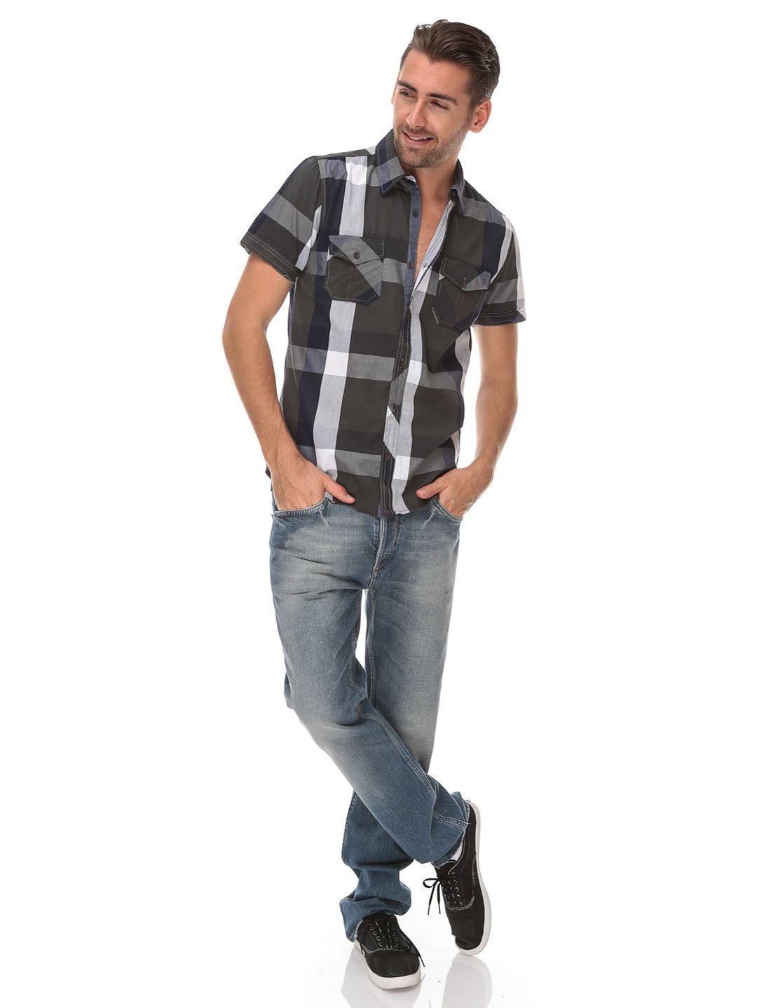 Roberts Style Slim Shirt Fashion Closet Look Men Outfit Kemeja Flanel Pria Model Slimfit Modern Dark Arthur Ideas Hombre Caballero Camisa Tienda Ropa Armario