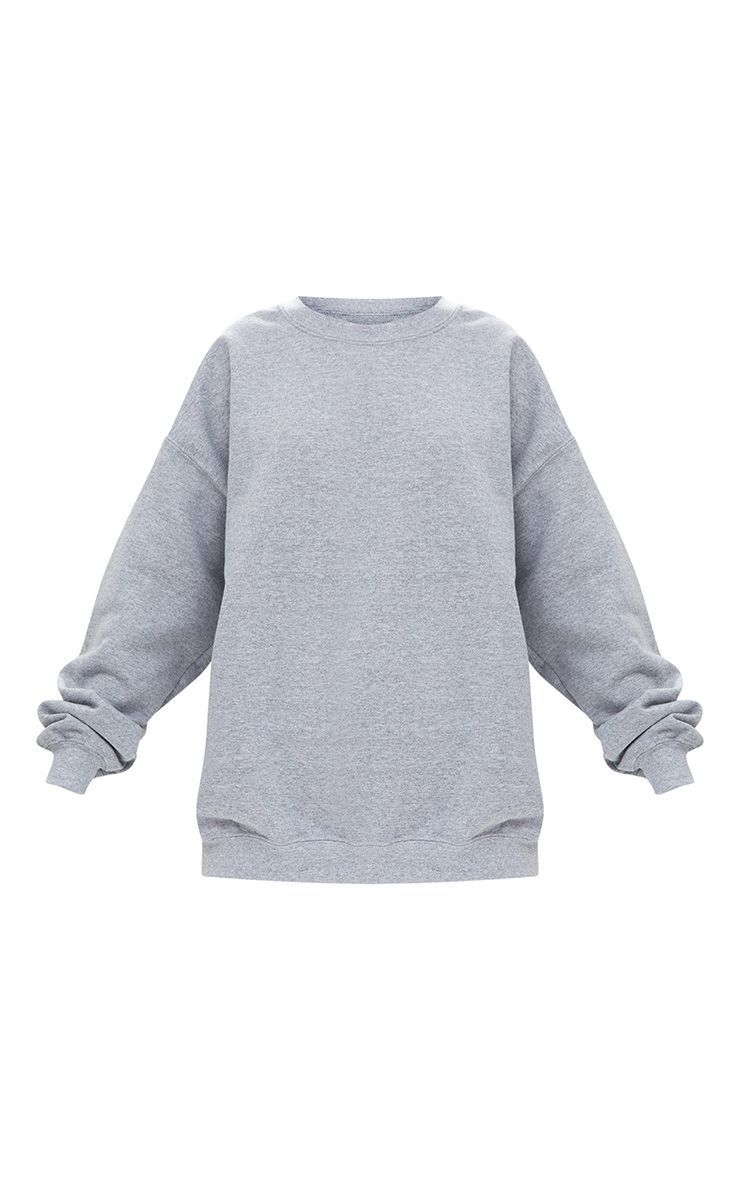 6a35a1c41d788a Grey Marl Ultimate Oversized Sweater