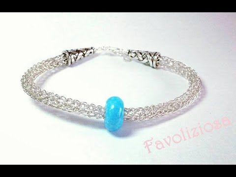 Knitting With Wire Tutorial : Knit bracelet and other items from heavy wire jewelrylessons