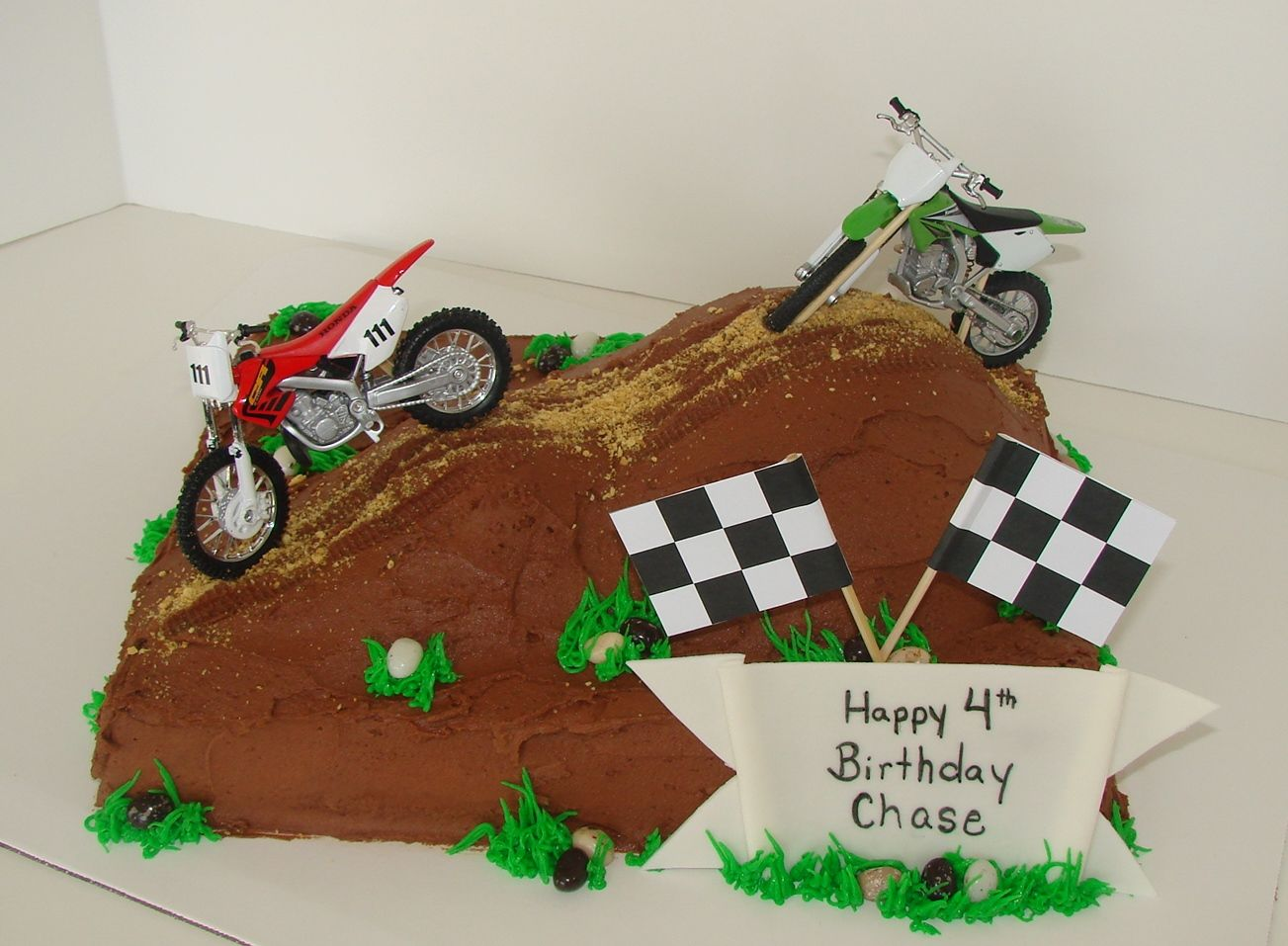 Groovy Dirt Bike Birthday Cake With Images Dirt Bike Cakes Funny Birthday Cards Online Inifofree Goldxyz