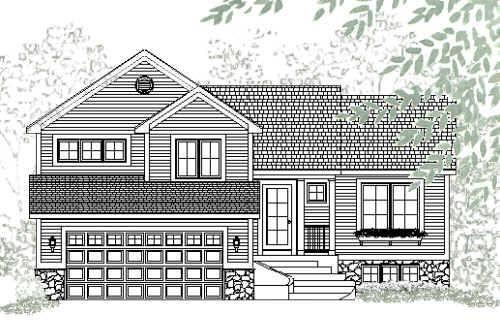 Charming Tri Level House Plans