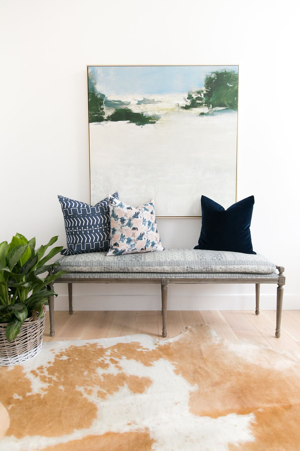 Fabulous Batik Bench Batik Indigo 68 Interior Goals Studio Onthecornerstone Fun Painted Chair Ideas Images Onthecornerstoneorg