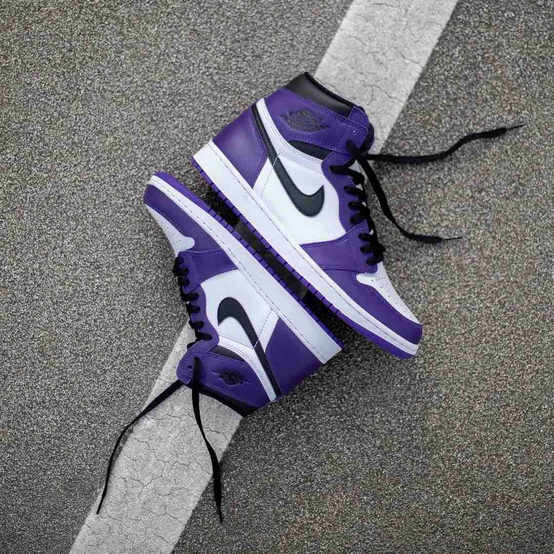 insidesneakers • Air Jordan 1 Retro High OG « Court Purple ...