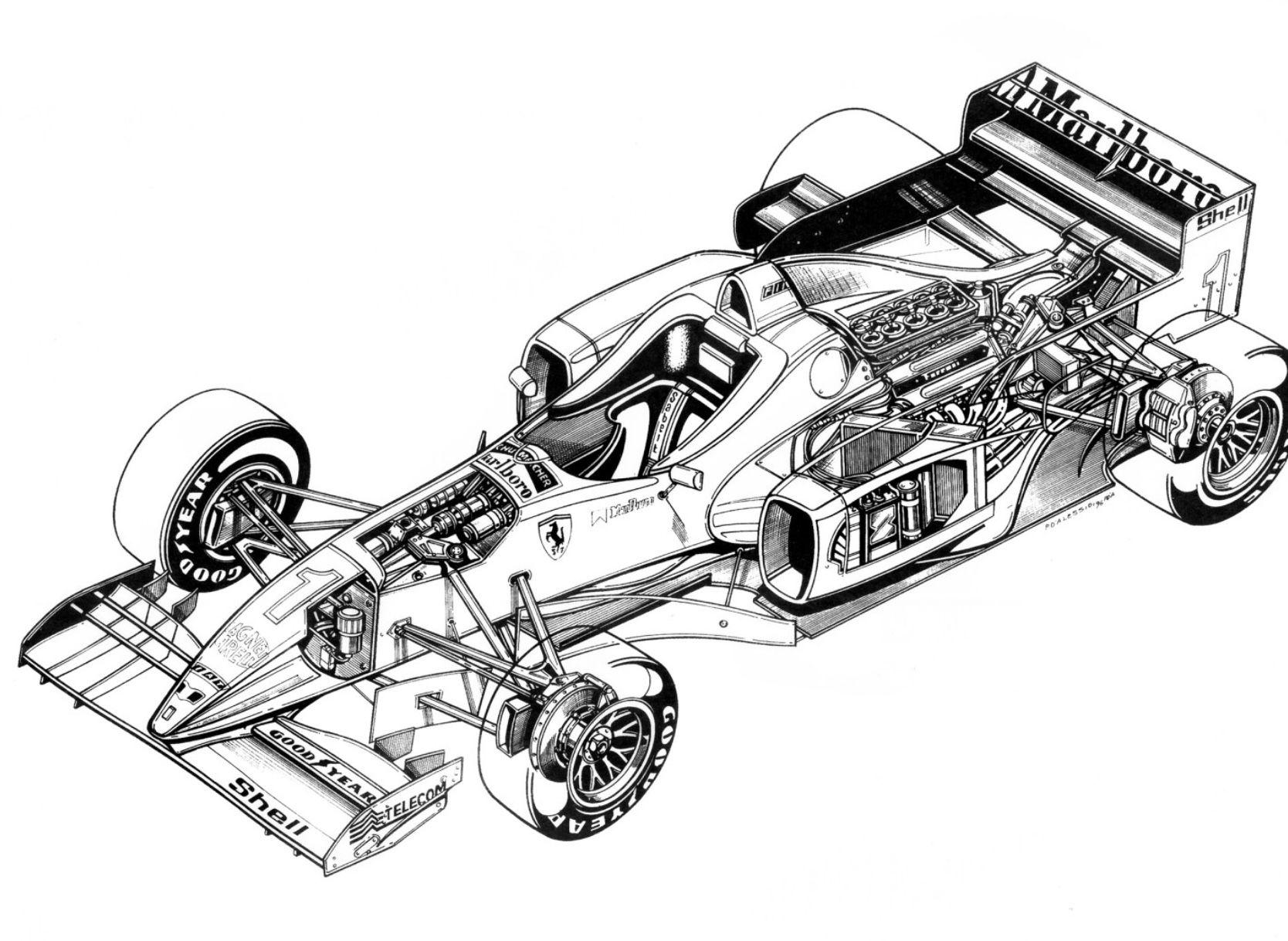 Pin By Gary On F310 In 2020 Ferrari Cutaway Goodyear Tires