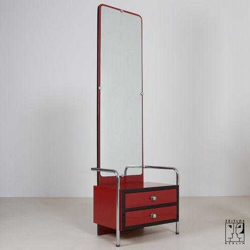 Zeitlos Berlin déco chest of drawers with mirror zeitlos berlin deco