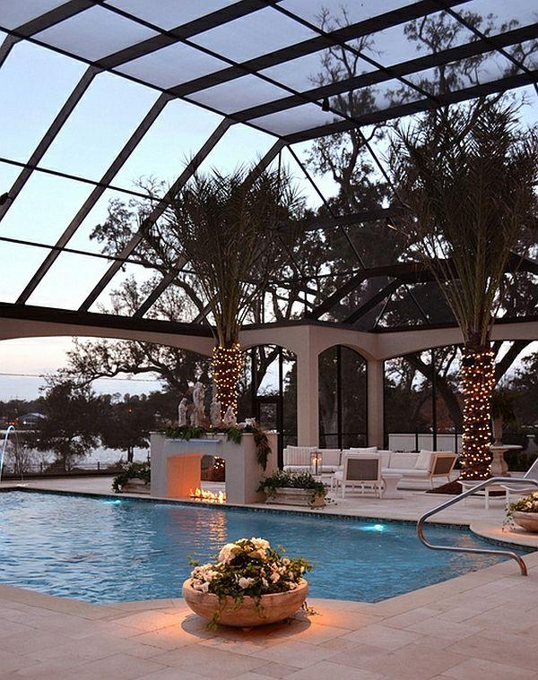 Schwimmbecken zu Hause 50 Design Ideen für den eigenen Indoor Pool