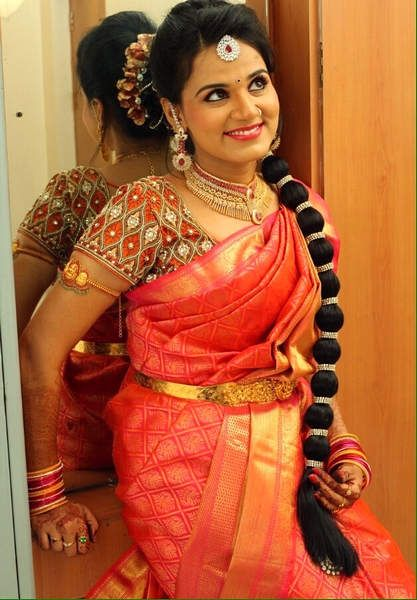 5 Charming Hairstyles for Indian Wedding Reception You Will Not Miss ...