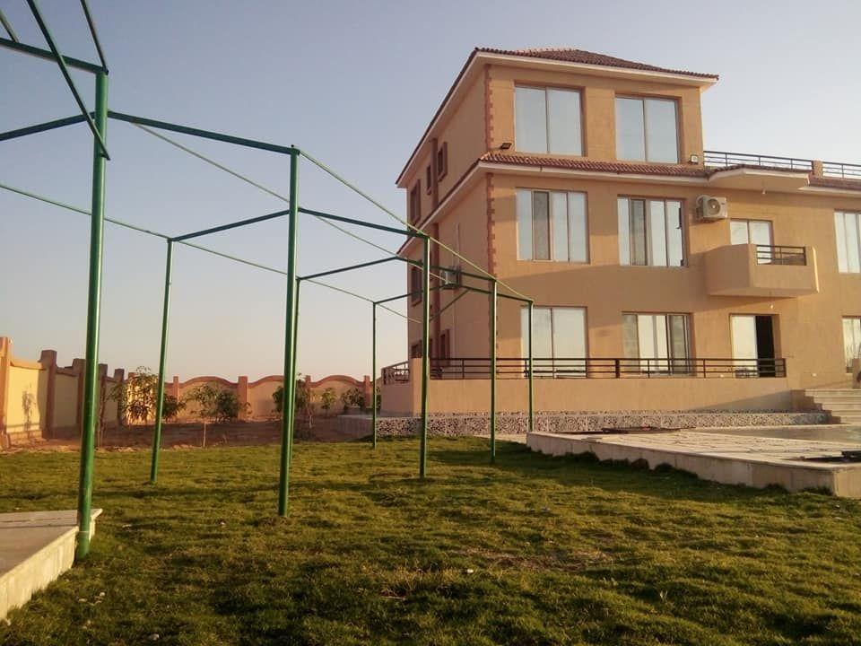 فيلا للبيع بالريف الاوروبي بحدائق الزهراء مسجلة شهر عقاري House Styles Mansions Building